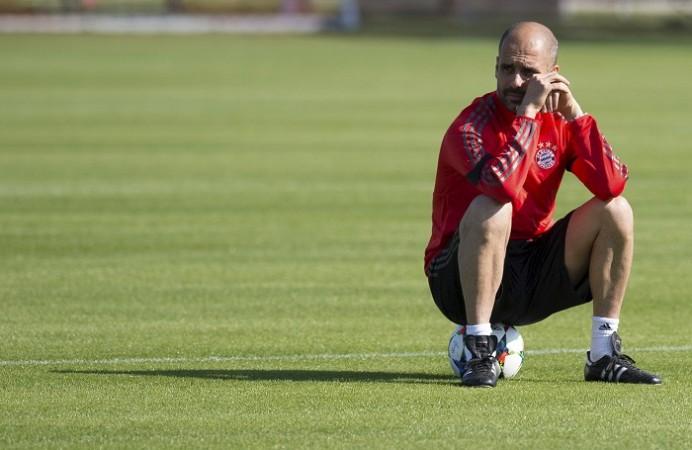 Pep Guardiola Bayern Munich
