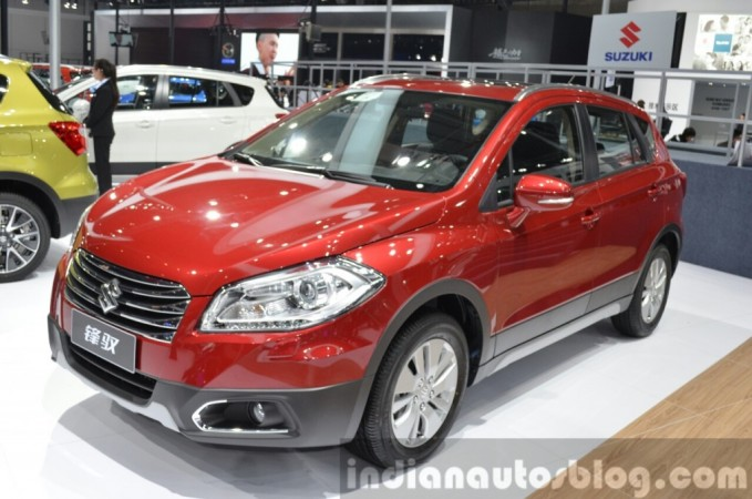Auto Shanghai 2015: Suzuki Showcases S-Cross, Coming to India Soon