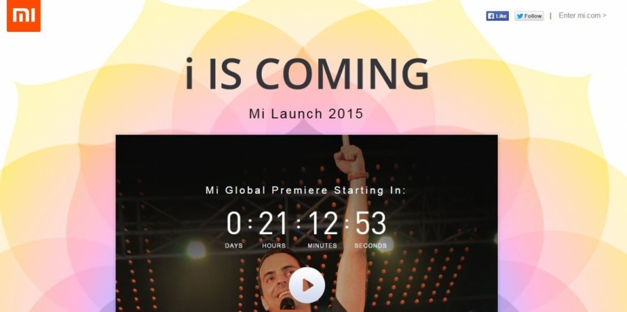 Xiaomi Mi Phone India Launch Live: Where to See Mi 4i Unveiling Event Online