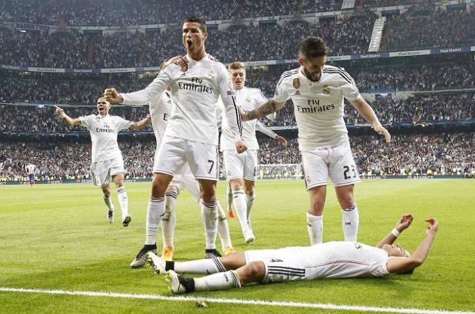 Cristiano Ronaldo Isco Javier Hernandez Real Madrid