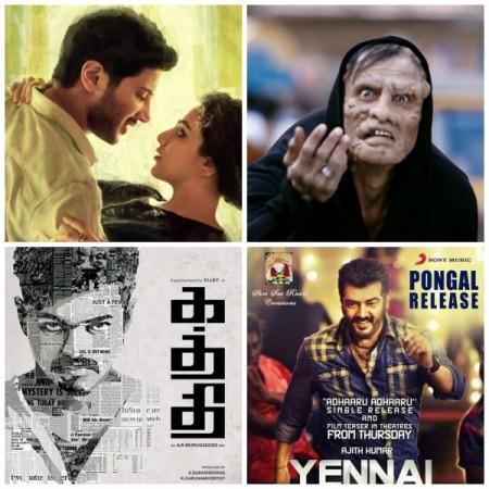 'Ok (Kadhal) Kanmani' Beats Vijay's 'Kaththi', Ajith's 'Yennai Arindhaal'; Loses to Vikram's 'I'