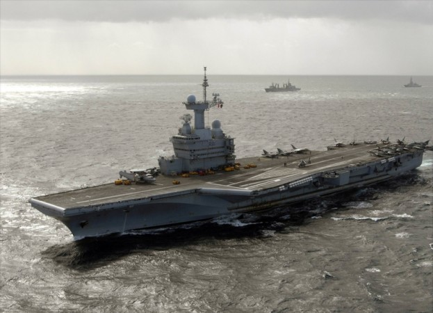 Indo - French Naval Exercise