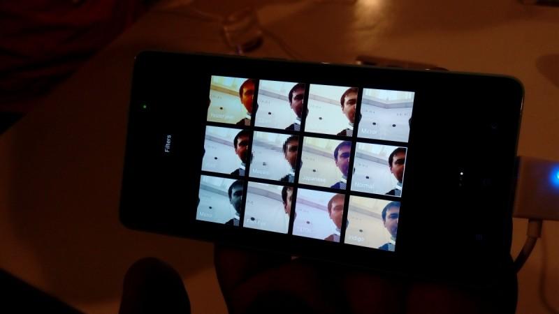 Xiaomi MI 4i camera menu