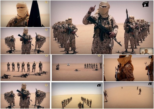 Isis militants have released a video announcing their presence in Yemen.