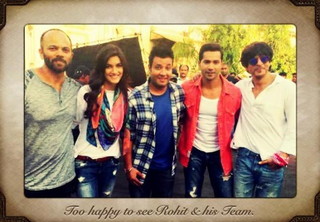 'Dilwale' team in Goa