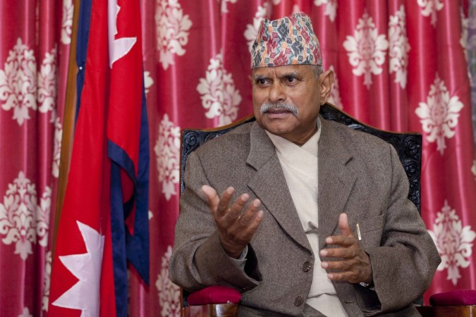 nepal president earthquake
