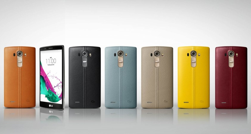 LG Launches Leather-Clad G4 with Feature-rich Camera; Specifications, Release Date Details