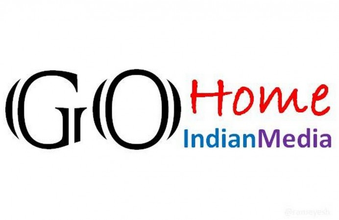 Go home indian media nepal earthquake