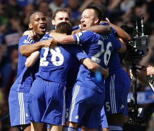 John Terry Didier Drogba Branislav Ivanovic Chelsea