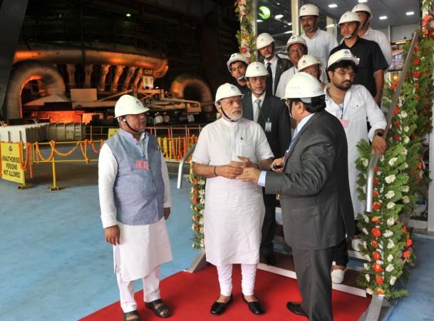 modi IISCO steel plant