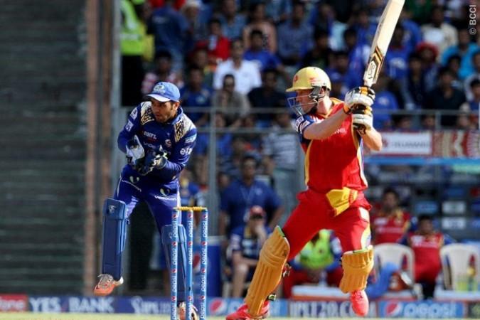AB De Villiers RCB Parthiv Patel Mumbai Indians