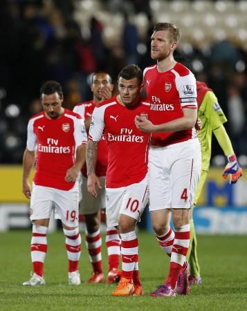Arsenal vs West Bromwich Albion
