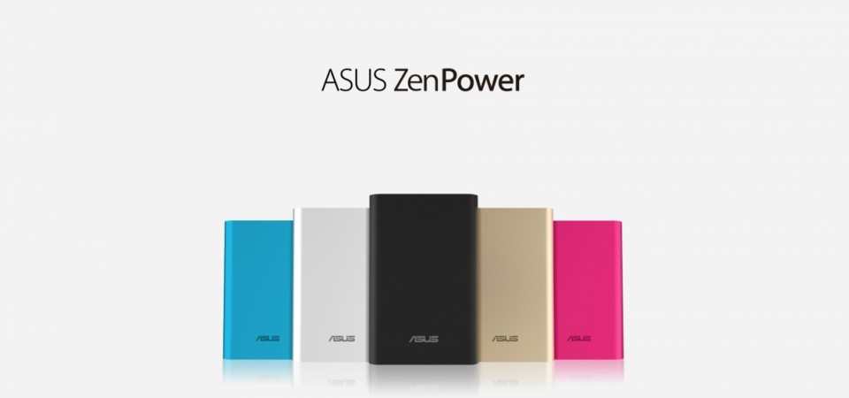 ASUS Unveils ZenPower Power bank series in India