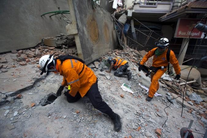 Earthquake again