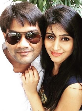 Shamili and Arun Pawar