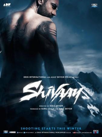'Shivaay' poster