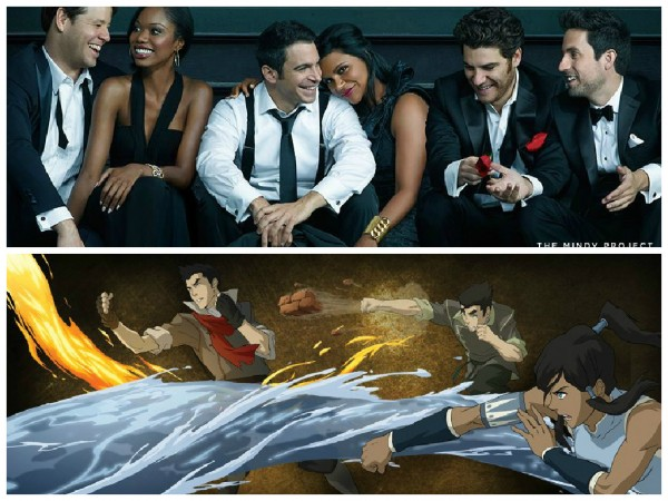 The Mindy Project and The Legend of Korra