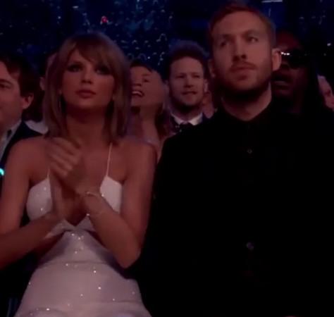 Taylor Swift and Calvin Harris at Billboard Music Award 2015