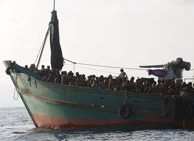Hundreds of migrants from Myanmar and Bangladesh are stranded in the sea after Indonesia, Thailand and Malaysia denied them entry.