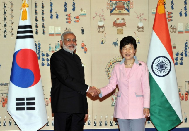 Modi in South Korea