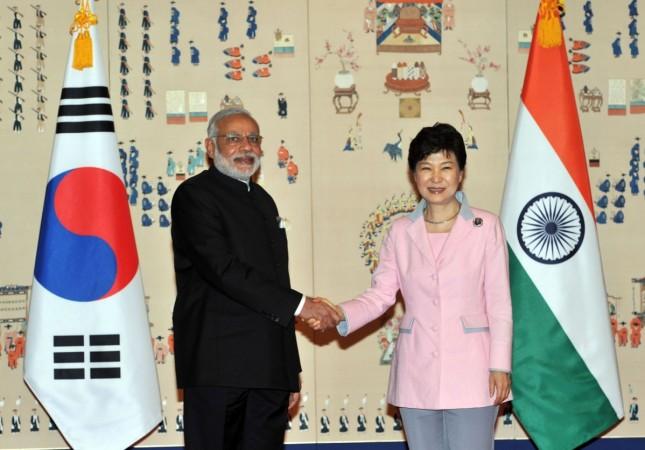 Modi in South Korea