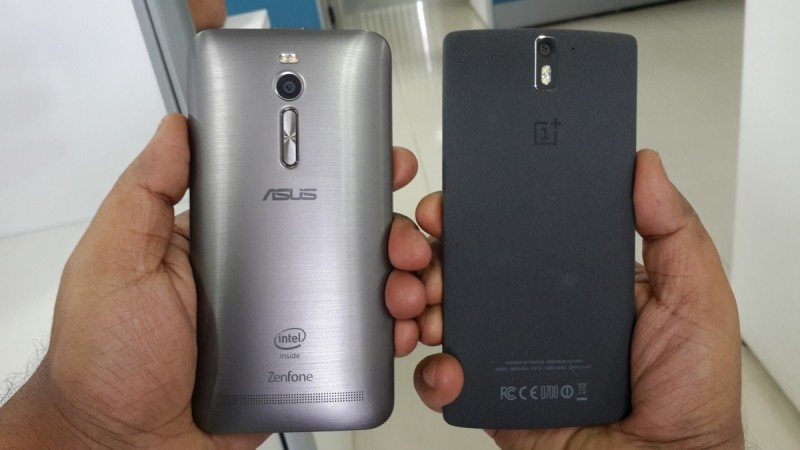 ASUS ZenFone 2 vs OnePlus One- Build Quality