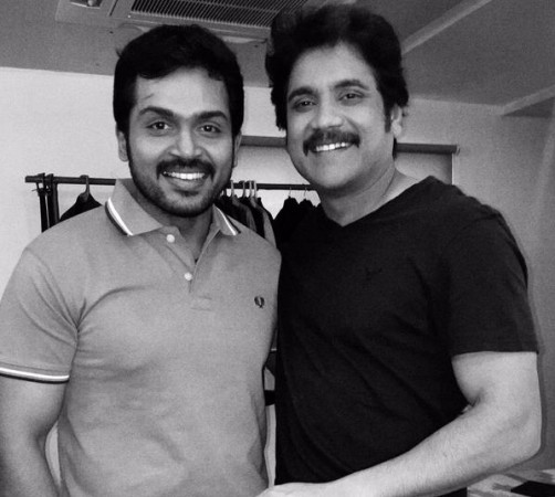 Karthi and Nagarjuna