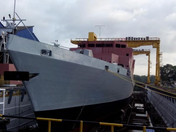 Anti-submarine warfare ship Kavaratti launched in Kolkata