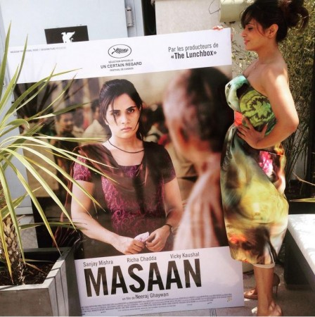 Cannes Film Festival 2015: Richa Chadda Starrer 'Masaan' Gets 5-Minute-Long Standing Ovation