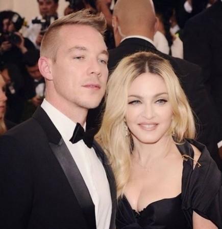 DJ Diplo and Madonna