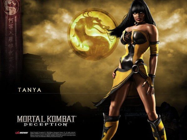 Tanya from Mortal Kombat Deception