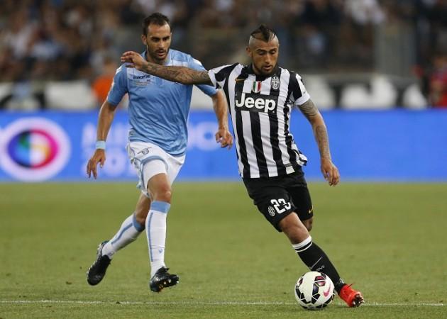Arturo Vidal Juventus Lazio Santiago Gentiletti