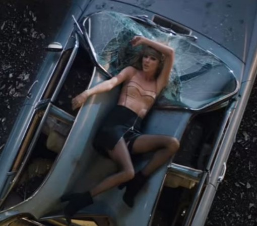 Taylor Swift in the 'Bad Blood' video