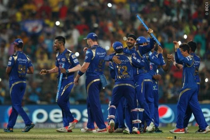 Mumbai Indians IPL 2015 Final