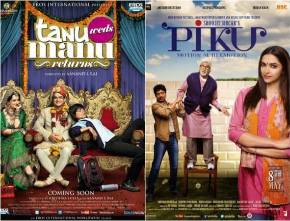 Piku and Tanu Weds Manu Returns