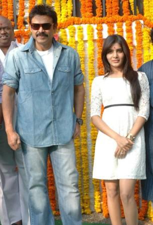 Venkatesh and Samantha
