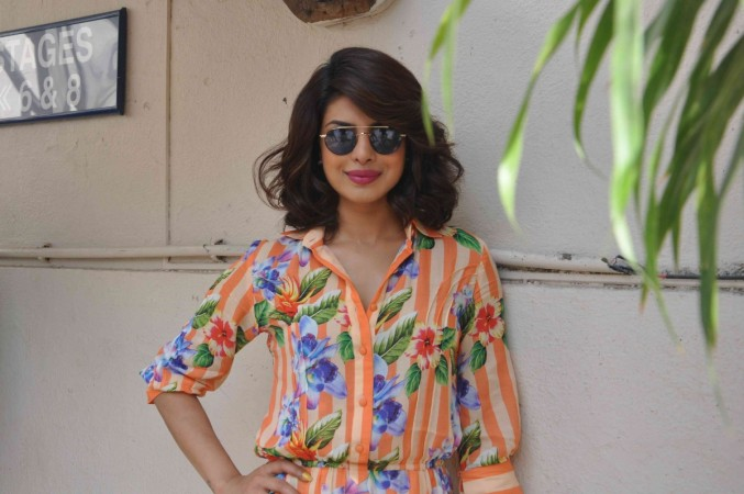 Priyanka Chopra during 'Dil Dhadakne Do' press meet