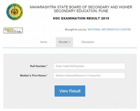 The MSBSHSE will declare the HSC 2015 results on its official website at 1 pm on Wednesday, 27 May.