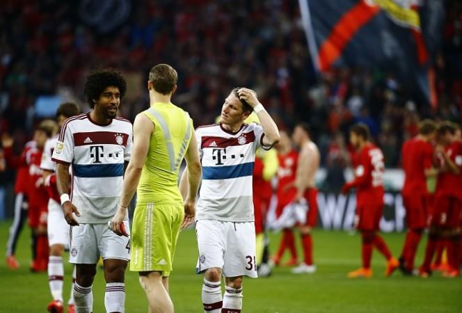 Dante Schweinsteiger Neuer Bayern Munich
