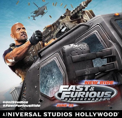 A poster of Fast and Furious Supercharged