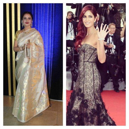 Katrina made Rekha insecure? Reasons Why the 'Khubsoorat' Actress Walked Out Off 'Fitoor'