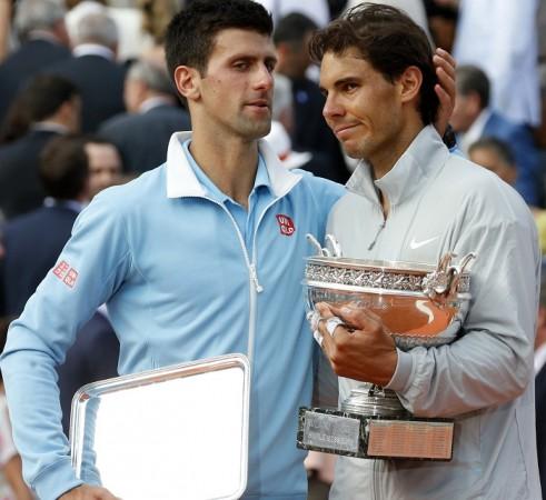 Novak Djokovic Rafael Nadal French Open 2014 Title