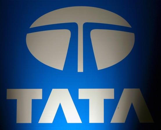 The logo of Tata Group
