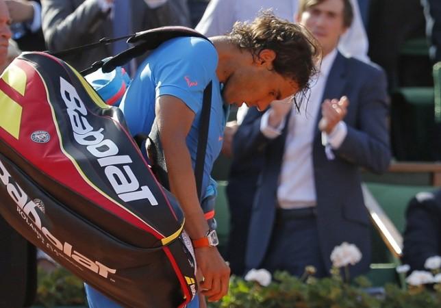 Rafael Nadal French Open 2015 Quarterfinal