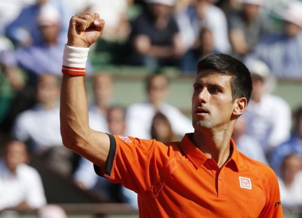 Novak Djokovic French Open 2015 Quarterfinal
