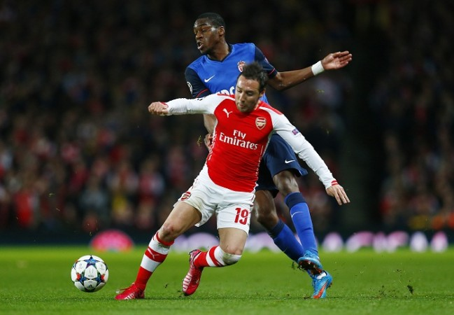 Geoffrey Kondogbia Monaco Arsenal Santi Cazorla