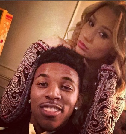 Iggy Azalea with Nick Young