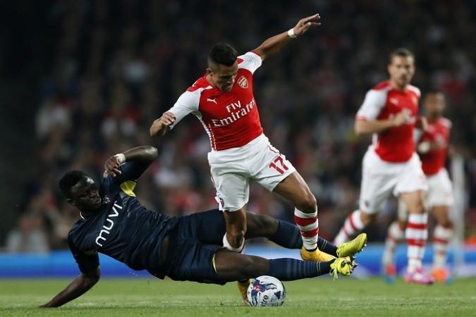 Victor Wanyama Southampton Alexis Sanchez Arsenal