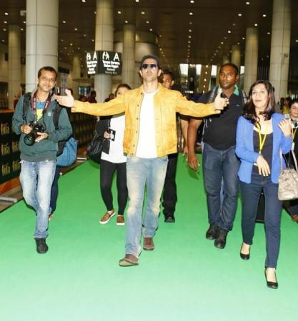 Hrithik Roshan Arrives Malaysia
