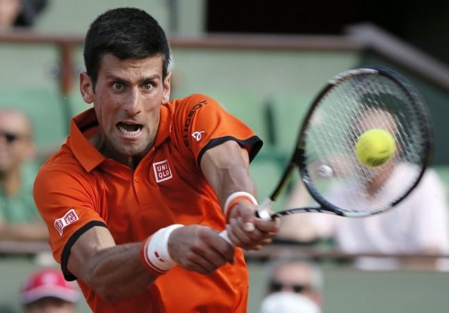 Novak Djokovic French Open 2015 Semifinal